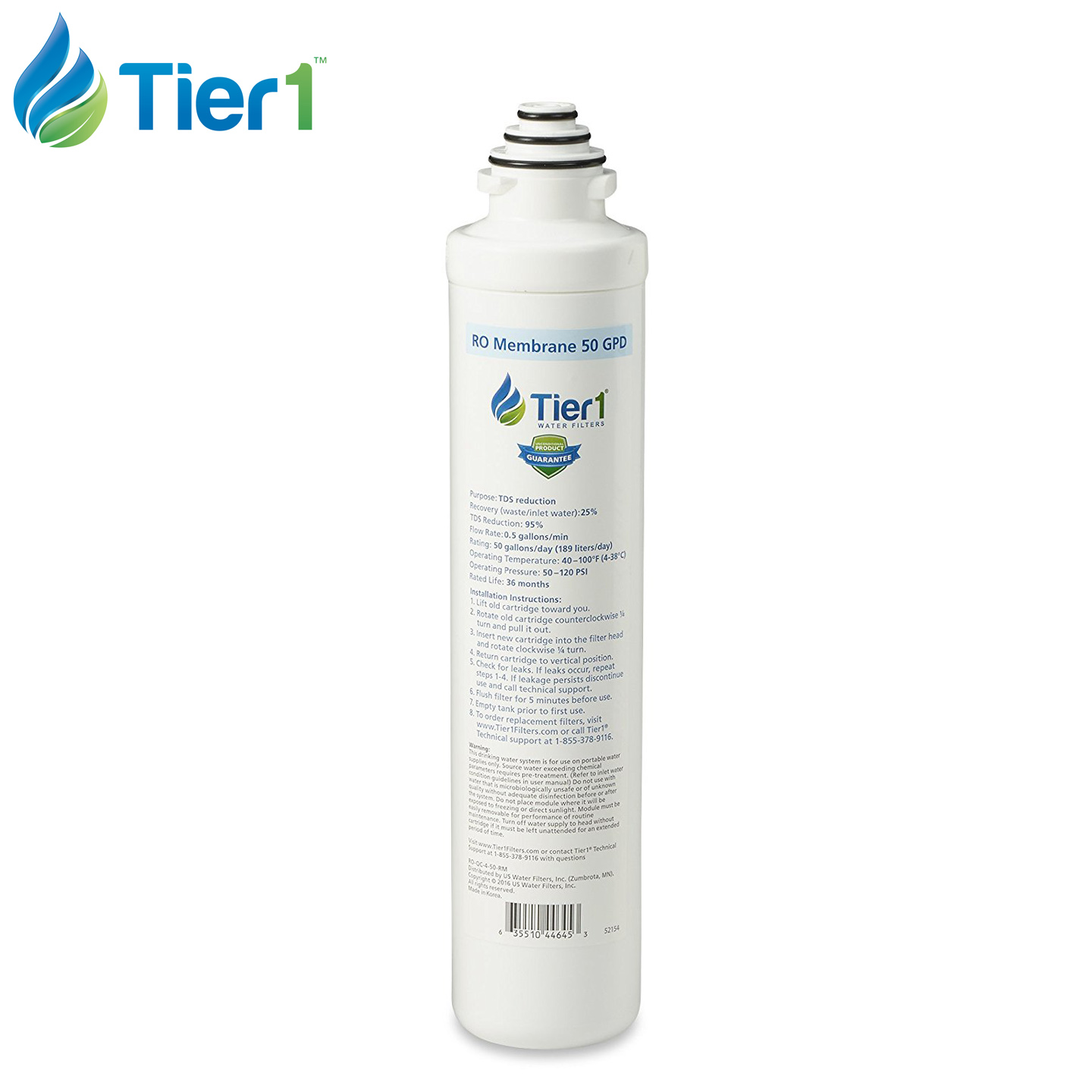 Tier1 Reverse Osmosis Systems and Filters