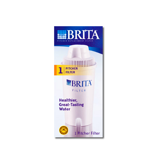 Brita 35501 Water Pitcher Filter Replacement Cartridge BRITA-PITCHER-FILTER-1PK