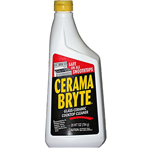 Glass Ceramic Cooktop Cleaner by Cerama Bryte