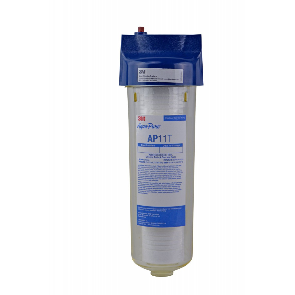 3m Aqua Pure Ap11t Whole House Water Filtration System