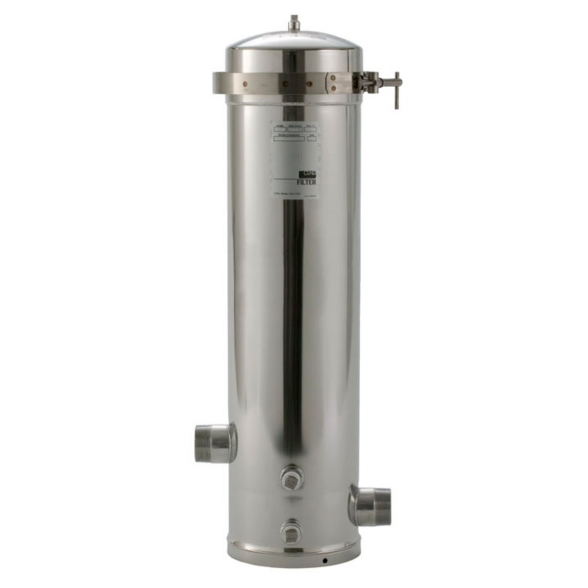 Ss12 Epe 316l Whole House Stainless Steel Filter Housing