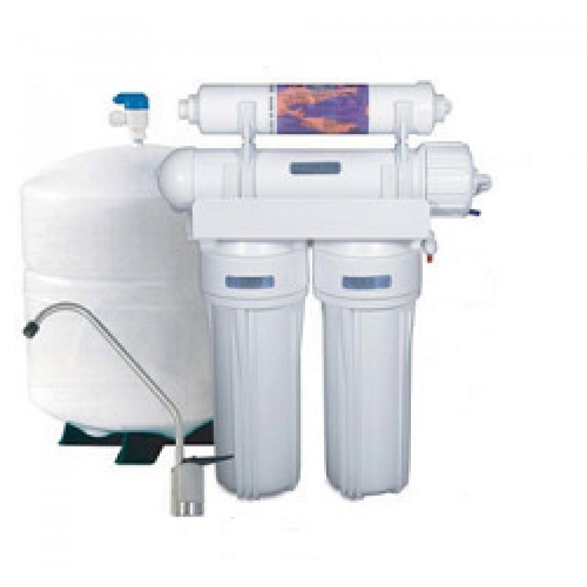 4 Stage Tfm Reverse Osmosis System With Inline Filter
