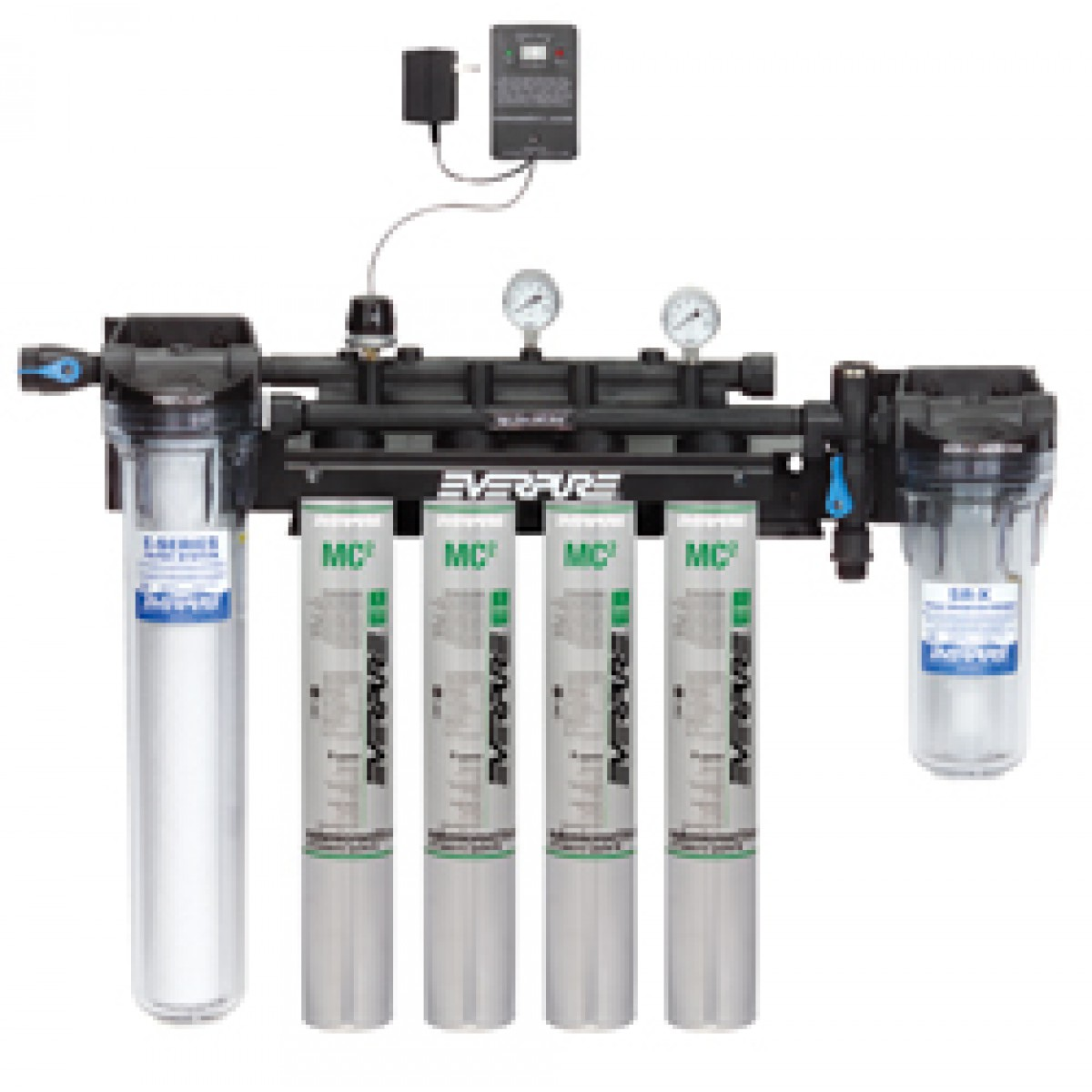 Everpure ev9437 11 high flow csr quad mc2 system low for Everpure water filter system reviews