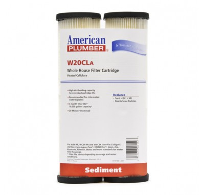 American Plumber W20CLA Pleated Cellulose Water Filters