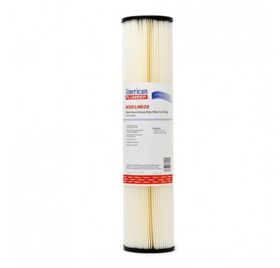 American Plumber W20CLHD20 Pleated Cellulose Water Filters