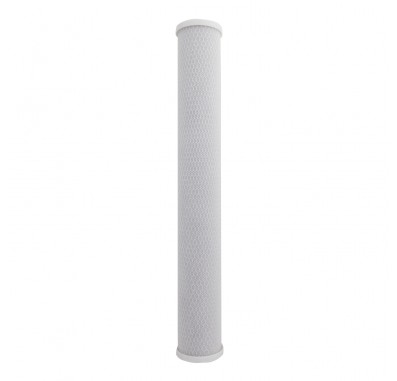 Crystal Quest 2-7/8 in x 20 in, 5-Micron Carbon Block Filter Cartridge