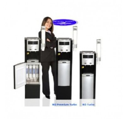 Crystal Quest Turbo Reverse Osmosis/Ultrafiltration Floor Water Cooler