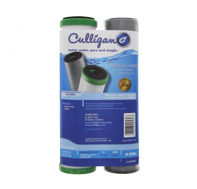 Culligan D-250A Under Sink Water Filter Set