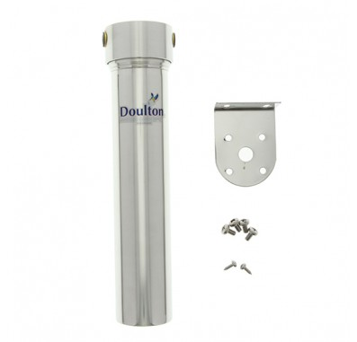 Doulton W9320007 HIS Stainless Steel In-Line Ceramic Candle Water Filter Housing
