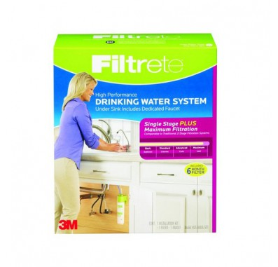 Filtrete 4US-MAXL-S01 Single Stage Drinking Water System
