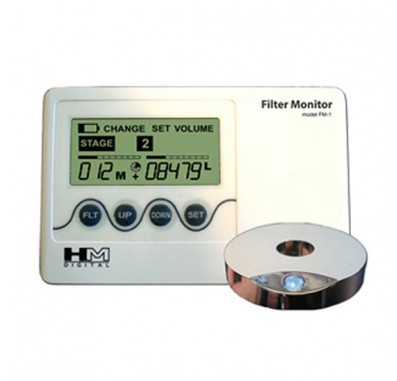 HM Digital FM-2 Filter Change Monitor with Volumizer for Five Stage Systems