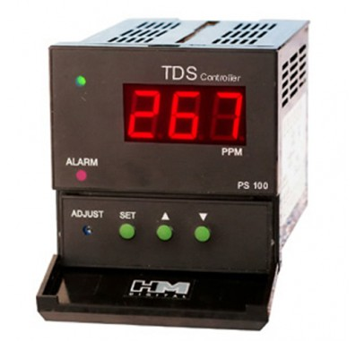 HM Digital PS-100 Panel Mount TDS Controller for Commercial Systems