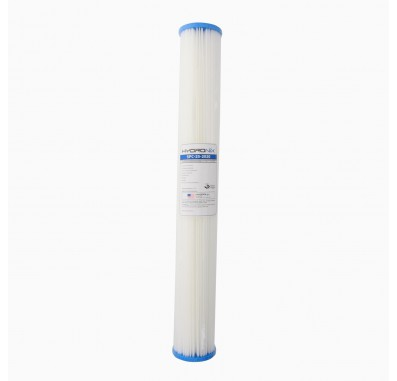 Hydronix SPC-25-2020 20-inch x 2.5-inch Pleated Sediment Water Filter 20 Micron