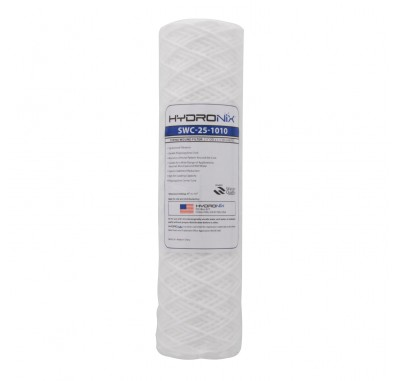 Hydronix SWC-25-1010 String Wound Sediment Water Filter (10 micron)