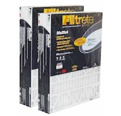3M Filtrete DP03DC-4 Deep Pleated 4 Inch Air Filters (2-pack)