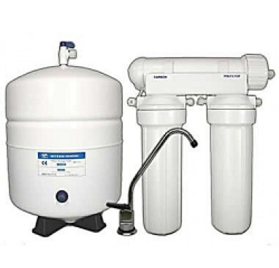 3 Stage Reverse Osmosis System with CTA Membrane Replacements