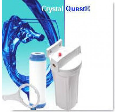 Crystal Quest Commercial Big-Inline Replaceable Single Multi ULTIMATE Water Filter System
