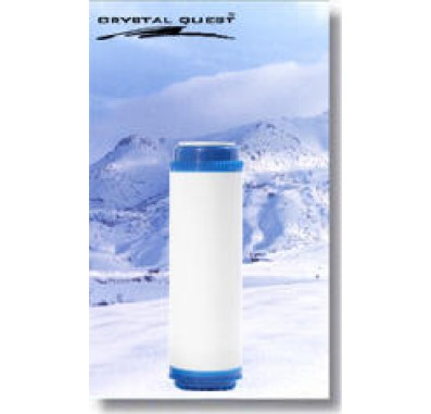 Crystal Quest 2-7/8 in x 9-3/4 in Phosphate & Coconut Shell GAC Filter Cartridge