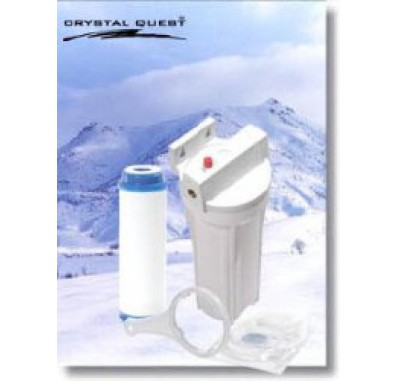 Crystal Quest Refrigerator/In-Line B ULTIMATE Water Filter System