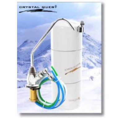 Crystal Quest Undersink Disposable Single PLUS Water Filter System
