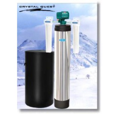 Crystal Quest Whole House Softener 1.5 Water Filter System