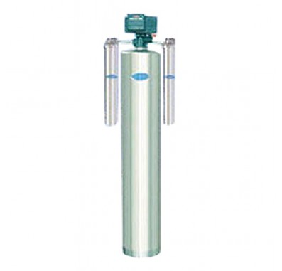 Crystal Quest Whole House Arsenic 1.5 Water Filter System (Stainless Steel)