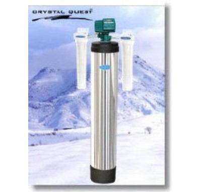 Crystal Quest Whole House Fluoride 1.5 Water Filter System