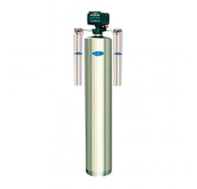 Crystal Quest Whole House Iron, Manganese 2.0 Water Filter System (Stainless Steel)
