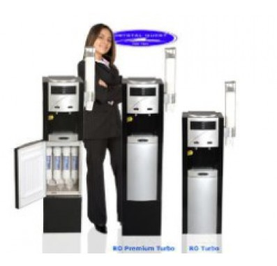 Crystal Quest Premium Turbo Reverse Osmosis/Ultrafiltration Floor Water Cooler