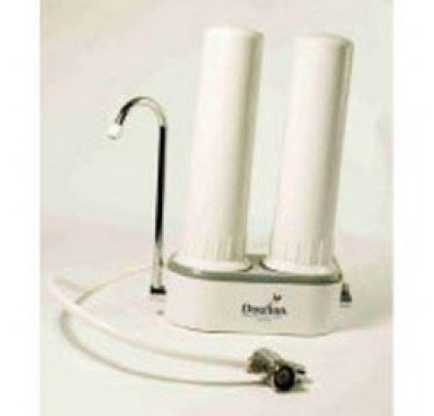 Doulton W9380208 HCPS Twin Housing Counter-Top Filter System - UltraCarb