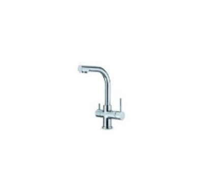 Dual-Function Hot/Cold and RO Chrome Contemporary Faucet FCT-MODENA (GKD02)