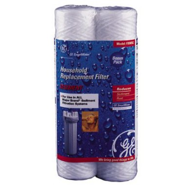 GE FXWSC Sediment Water Filter (2-Pack)
