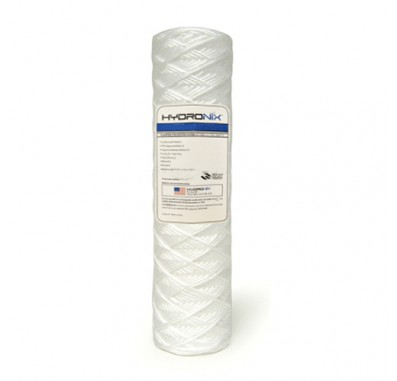 Hydronix SWC-25-1050 String Wound Sediment Water Filter (50 micron)