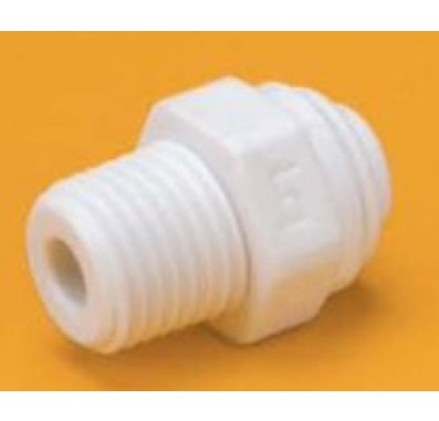 FQMC1046 - 1/4-Inch Tube QC x 3/8-Inch NPT Male Quick Connect Fitting