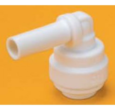 FQPE0606 - 3/8-Inch Stem x 3/8-Inch Tube Quick Connect Plug In Stem Elbow Connector