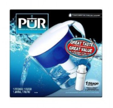 PUR CR-1500R Water Filter Pitcher