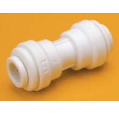 FQUC1586 - 1/2-Inch Tube x 3/8-Inch Tube Union Connector Quick Connect Fitting
