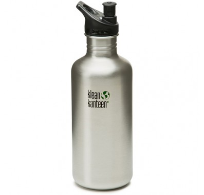 K40PPS Klean Kanteen 40oz Stainless Steel Water Bottle with Sport-Top