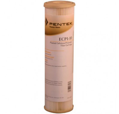 Pentek ECP1-10 Pleated Sediment Water Filters (9-3/4-inch x 2-5/8-inch)