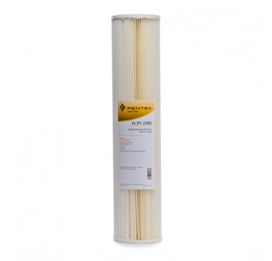 Pentek ECP5-20BB Pleated Sediment Water Filters (20-inch x 4-1/2-inch)
