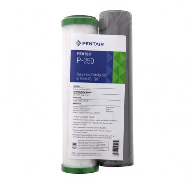 Pentek P-250 Under Sink Water Filter Set
