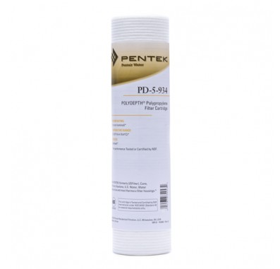 Pentek PD-5-934 Sediment Water Filters (Sold Individually)