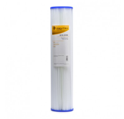 Pentek R30-20BB Pleated Polyester Water Filters (20-inch x 4-1/2-inch)