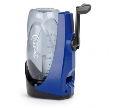 SIDE-SYS SteriPEN Sidewinder Hand-Powered Battery-Free UV Water Purifier