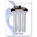 CRYSTAL QUEST Commercial Reverse Osmosis System 200 GPD