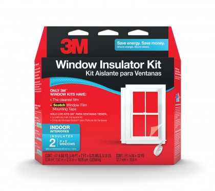 Window 3M Insulator Kit and Scotch Window Film Tape Kit