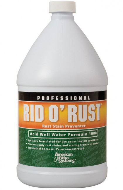 American Hydro Systems 2665 Rid O' Rust Formula 1000 Rust Stain Preventer