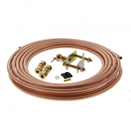 Copper 1/4-inch Water Line Install Supply Line Kit by Tier1