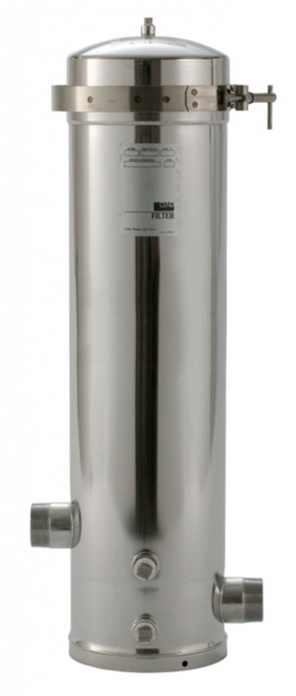 SS12 EPE-316L Whole House Stainless Steel Filter Housing: 3M Aqua-Pure