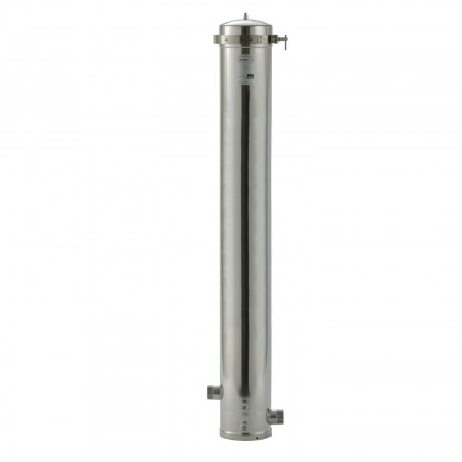 SS48 EPE-316L Whole House Stainless Steel Filter Housing: 3M Aqua-Pure